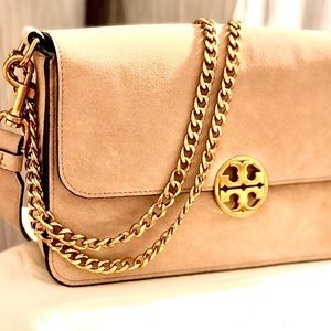 Tory Burch Chelsea Suede Shoulder Crossbody Bag